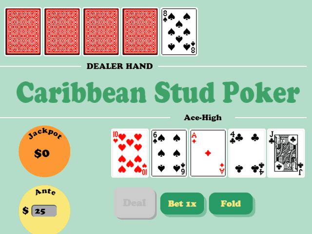 Покер Caribbean Stud Poker